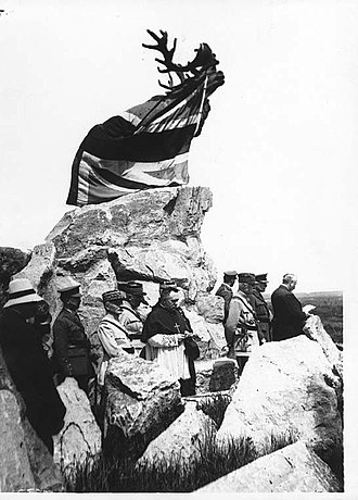 Beaumont-Hamel Newfoundland Memorial - Image: NLS Haig War memorial for Newfoundland soldiers