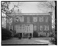 NORTH (REAR) ELEVATION - Berners Barnwell Sams House, 201 Laurens Street, Beaufort, Beaufort County, SC HABS SC,7-BEAUF,27-3.tif