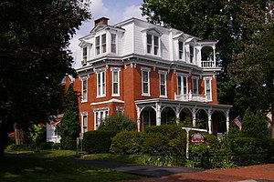 Adam Orris House - Image: NRHP Adam Orris House