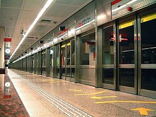 Platform screen doors Doors separating rail platforms from tracks