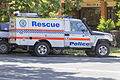 NSW Police Rescue (R 40) Toyota Land Cruiser at Wagga Wagga.jpg