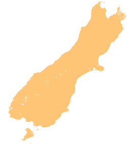 Ōkārito Lagoon is located in South Island