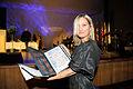 Naja Marie Aidt - vinnare av Nordiska radets litteraturpris ar 2008. Vid prisutdelningen i Helsingfors.jpg