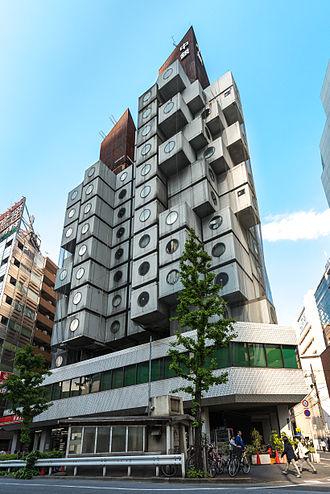 Kisho Kurokawa - The Nakagin Capsule Tower