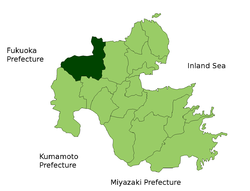 Nakatsu in Oita Prefecture.png