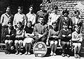 Nap utca 33. Fővárosi Általános Iskola (ma Józsefvárosi Zeneiskola), csoportkép egy hatodikos osztályról. Fortepan 13112.jpg