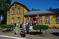 Narrow gauge railway - Anykščiai railway station (2).jpg