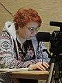 Nataliya Zubar at Mision of Kharkiv Discussion 2015-12-29.jpg