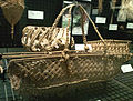 National Museum of Ethnology, Osaka - Baby carrying basket - Yap Island in Federated States of Micronesia - Collected in 1985.jpg