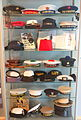 Naval hats of the world - Marinmuseum, Karlskrona, Sweden - DSC08936.JPG