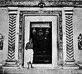 Navdurga temple entrance (1950s).jpg