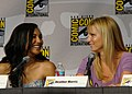 Naya Rivera & Heather Morris (4852313737).jpg