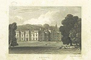 Belhus, Essex - Image: Neale(1818) p 1.298 Belhus, Essex