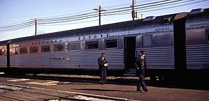 "Downers Grove train wreck - 60-seat coach ""Neptune"" (1968) (sister ""Minerva"" was in wreck)"