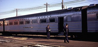 """Downers Grove train wreck - 60-seat coach """"Neptune"""" (1968) (sister """"Minerva"""" was in wreck)"""