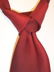 aceb17d995b4 An Atlantic knot, which is notable for being tied backwards