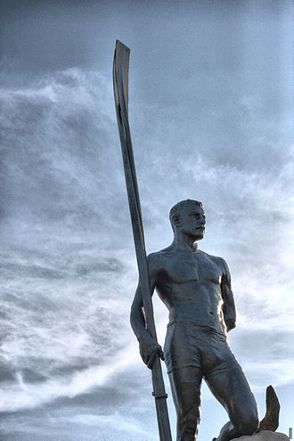 Emanuel Hahn - Image: Ned Hanlan statue on the Toronto Islands