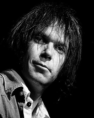 Neil Young - Young in 1976