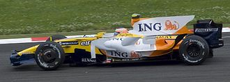 Nelson Piquet Jr. - Piquet scored the first points of his F1 career at the 2008 French Grand Prix.
