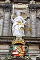 Netherlands-4589 - Lady of Justice & William of Orange Coat-o-Arms (12171086413).jpg
