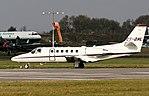 Netjet CS-DHL Cessna 550 citation Coventry(4) (32927399380).jpg