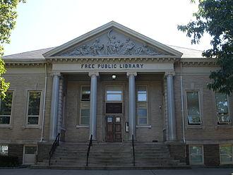 New Brunswick Free Public Library - Image: New Brunswick Public Library
