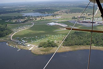 Fantasy of Flight - Aerial view of the site