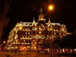 Boscolo Budapest Hotel - Image: New York Palota 2013.09.26
