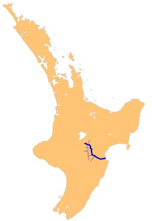 Ngaruroro River - Image: Ngaruroro river system