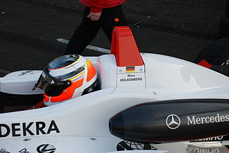 Nico Hülkenberg - Hülkenberg won seven races en route to the 2008 Formula 3 Euro Series title.