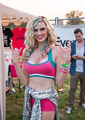 Nicole Arbour - Arbour at the 2014 Hamilton Festival of Friends