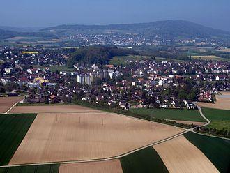 Niederglatt - Image: Niederglatt Luftbild