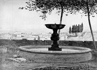 A View from S. Onofrio on Monte Gianicolo, Rome