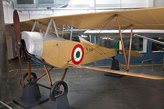 Nieuport 10 - Nieuport-Macchi Ni.10 at the Museo nazionale della scienza e della tecnologia Leonardo da Vinci in Milan.