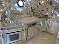 Niki de saint-phalle, giardino dei tarocchi, imperatrice, interno, cucina.JPG