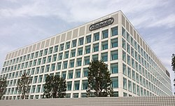 Exterior of the Nintendo Development Center in Kyoto, Japan