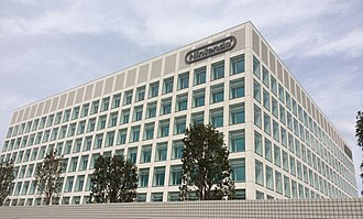 Nintendo Entertainment Planning & Development - Exterior of the Nintendo Development Center in Kyoto, which houses the division