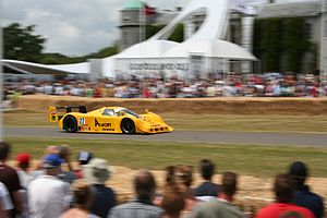 Nissan R90C - The JSPC From-A Racing R91CK during an exhibition at the 2006 Goodwood Festival of Speed.