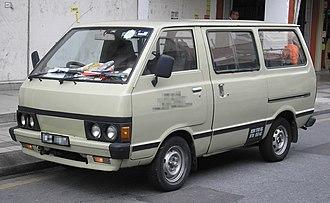 Nissan Vanette - Nissan Vanette (C120, Malaysia).