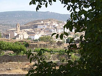 Nogueruelas - Image: Nogueruelas Pueblo