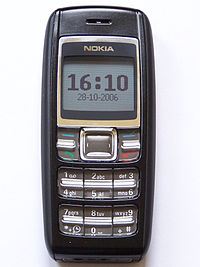 nokia 1600 rh be tarask wikipedia org Nokia 1110 Nokia 5210