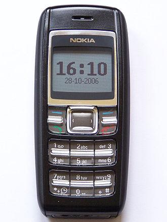 Nokia 1600 - Image: Nokia 1600 01