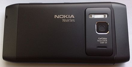 The Nokia N8 smartphone is the first Nokia smartphone with ...