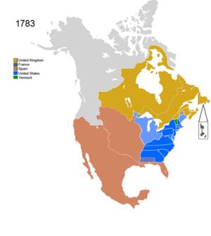Control de naciones no nativas americanas sobre América del Norte 1783.png