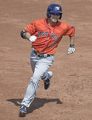 Nori Aoki - Aoki with the Houston Astros in 2017