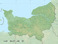 Normandie region relief location map.jpg