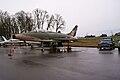 North American F-100F Super Sabre LSideFront Ford F-100 1956 EASM 4Feb2010 (14404407468).jpg