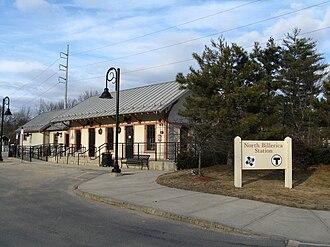 Billerica, Massachusetts - North Billerica MBTA station