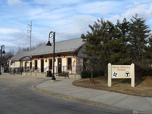 North Billerica MBTA Station, MA