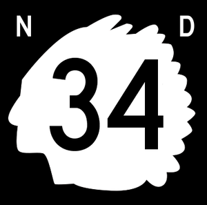 Emmons County, North Dakota - Image: North Dakota 34